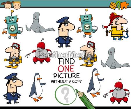 preschool educational task