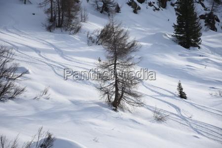 staller saddle defereggen valley winter