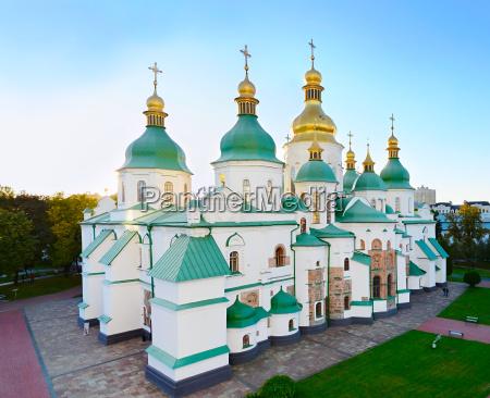 famous st sophia cathedral ukraine