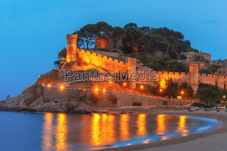 tossa de mar on the costa
