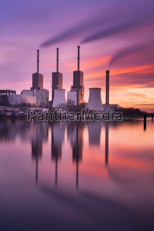 power plant on the teltow canal