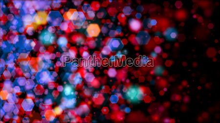 colored bokeh backdrop