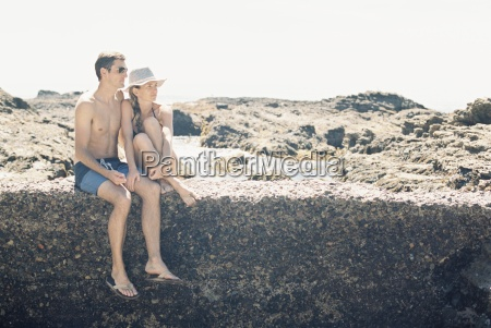 a man and woman couple on