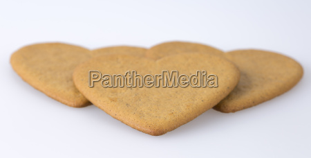 gingerbread cookies close up