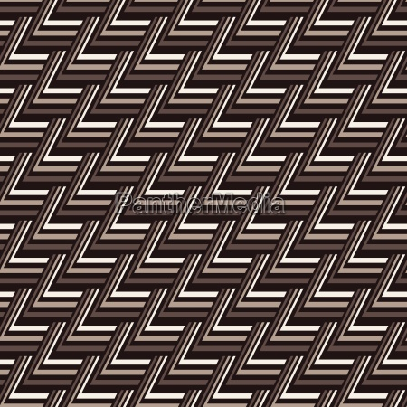 seamless abstract brown pattern from triangle