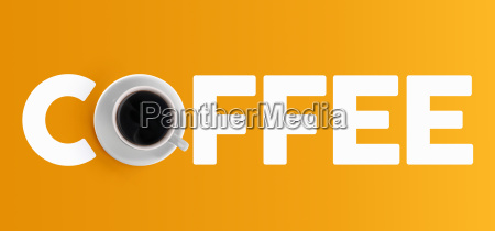 coffee cup concept design top view