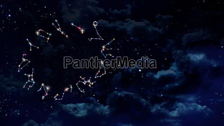 horoscopes zodiac sign night still