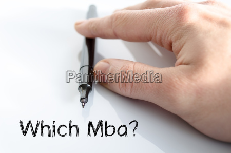 which mba text concept