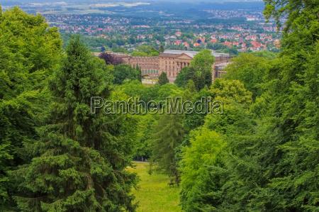 kassel castle wilhelmshoehe kassel palace