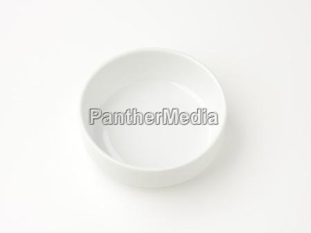 white stacking bowl