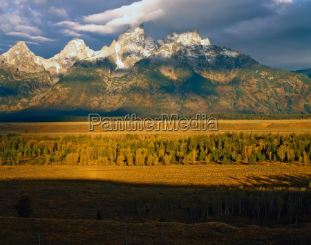 grand teton in wyoming