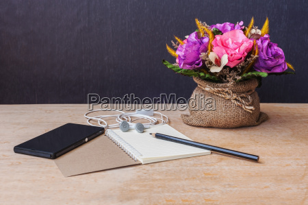 table of composer still life tone