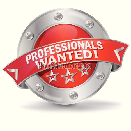 button we are looking for professionals