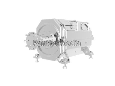optional stainless steel engine block