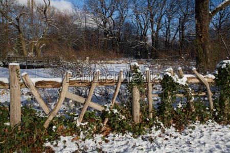 winter in berlins volkspark friedrichshain
