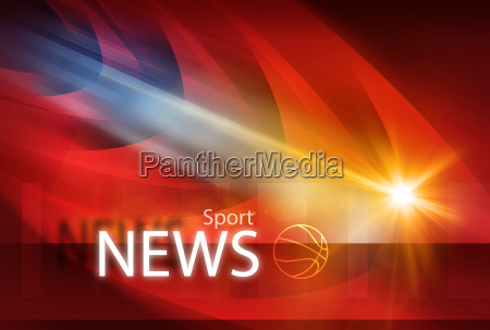 graphical modern sport news background ii