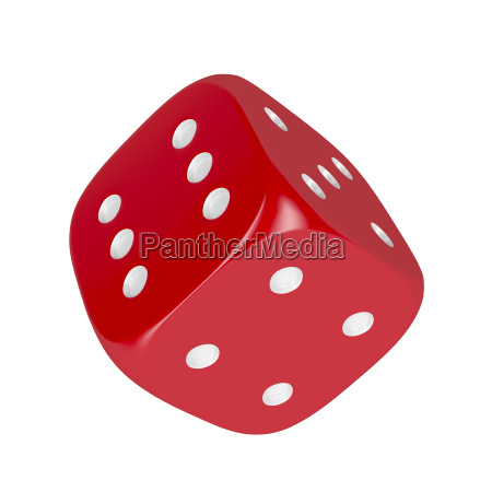 dice isolated on white