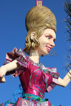 the queen carnival of nice