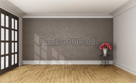 empty classic room