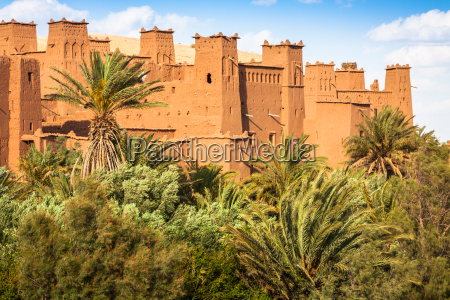 ait benhaddou is a fortified city