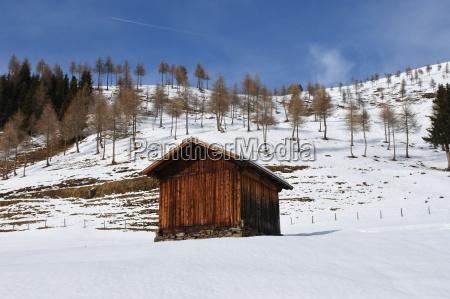 alpine hut hut wooden hut