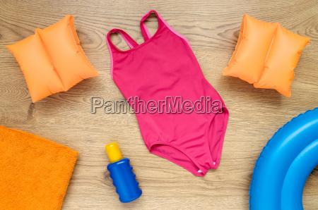 little girls summer vacation accessories