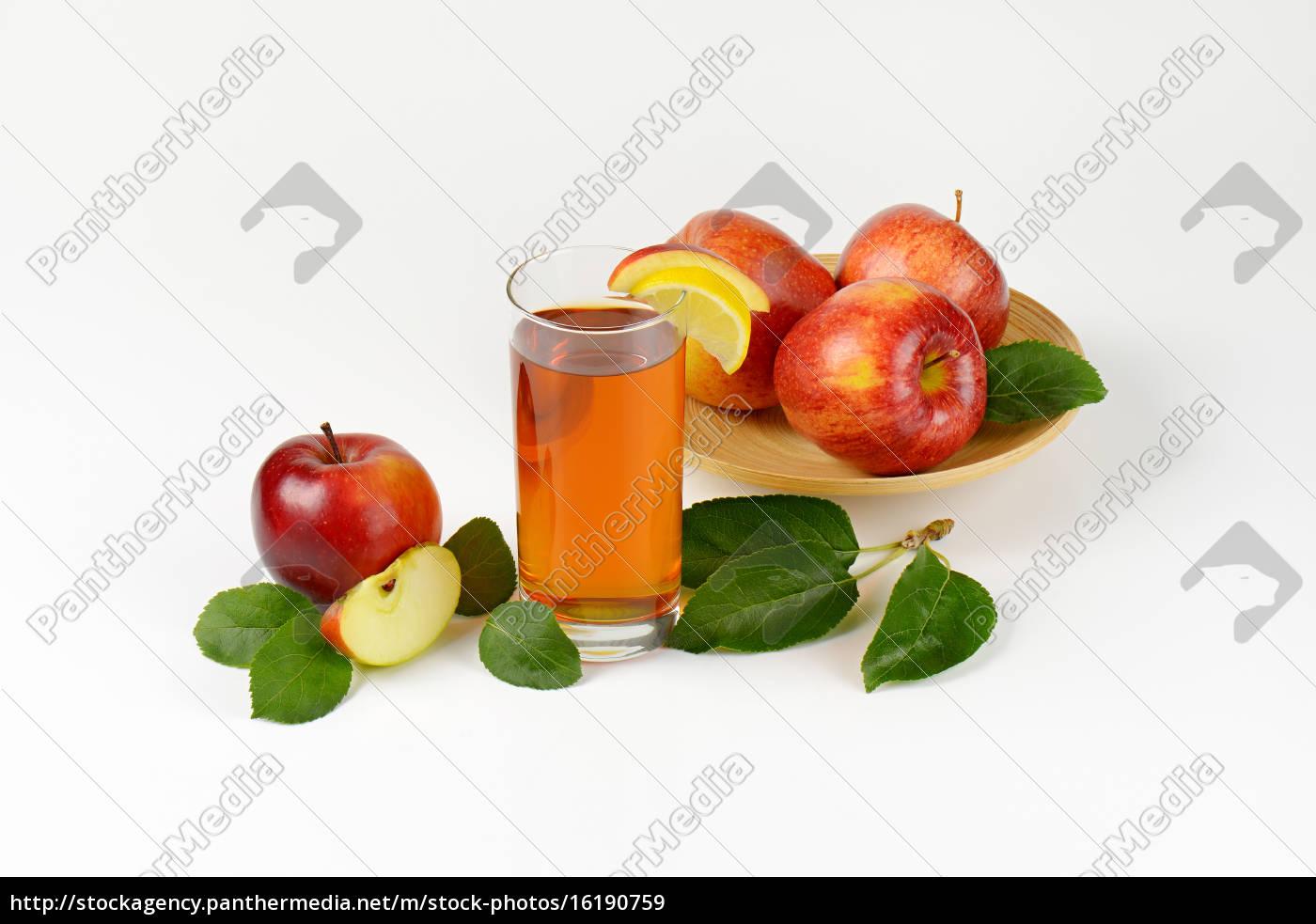 glass, of, apple, juice - 16190759