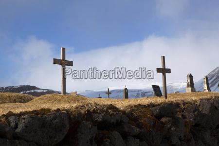 graveyard at the black church of