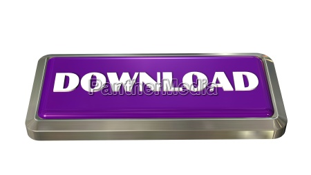 download button insulated to white