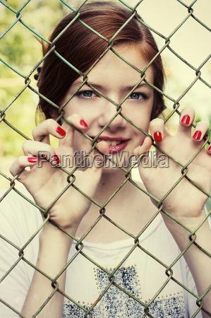 charming girl teen