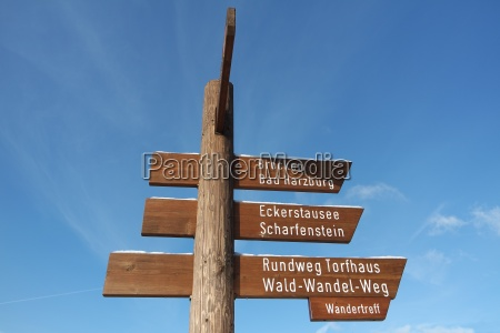 hiking trails in the harz