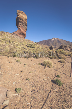 teide national park in tenerife canary