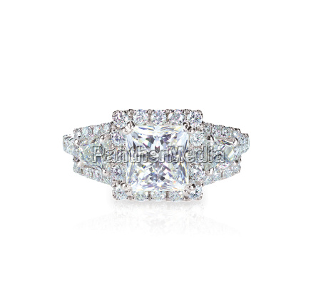 diamond solitaire engagment wedding ring princess