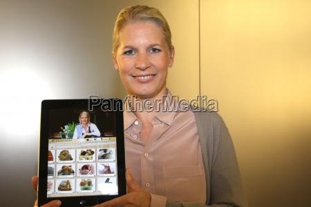 cornelia poletto presentation of the cooking