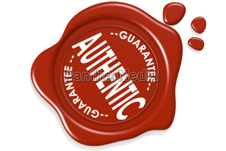 authentic product quality label warranty seal