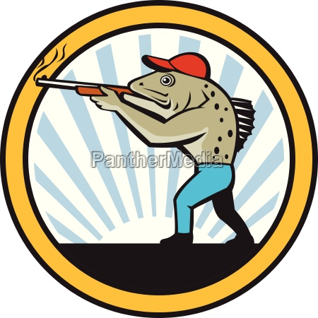 spotted sea trout hunter shooting circle