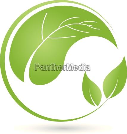 leaves plant logo bio naturopaths