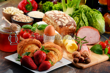composition, with, variety, of, organic, food - 16324777