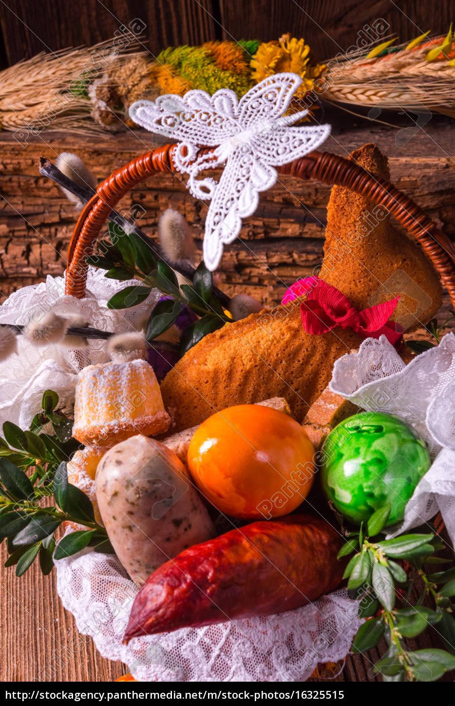 basket, of, food - 16325515