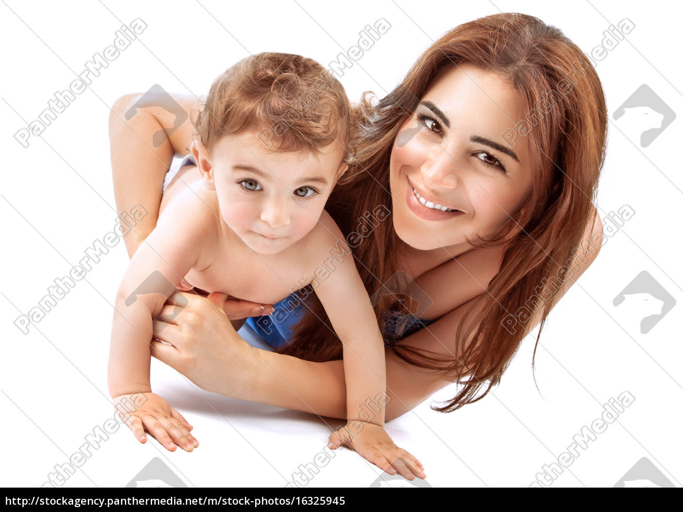 happy, mother, with, baby - 16325945