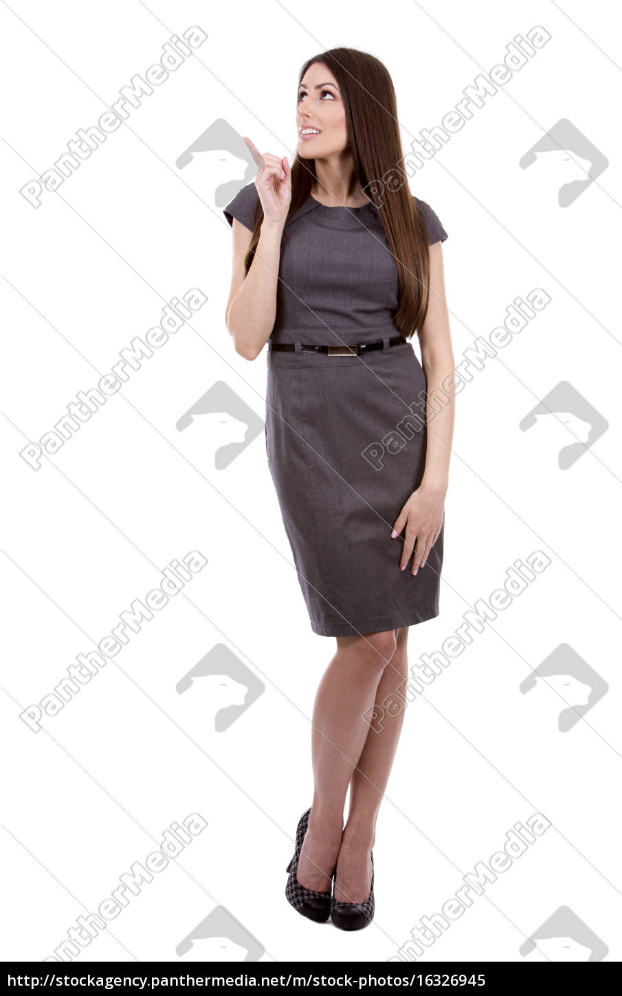 business, young, woman - 16326945