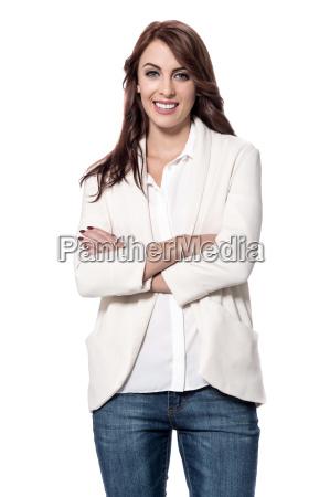 confident pretty woman