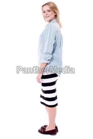 pretty, woman, in, trendy, wear - 16327173