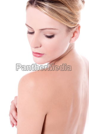 spa, woman, looking, back - 16327239