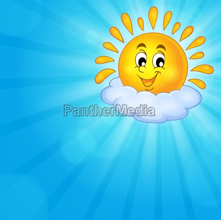 cheerful, sun, theme, image, 3 - 16328517