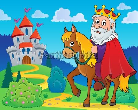 king, on, horse, theme, image, 2 - 16328611