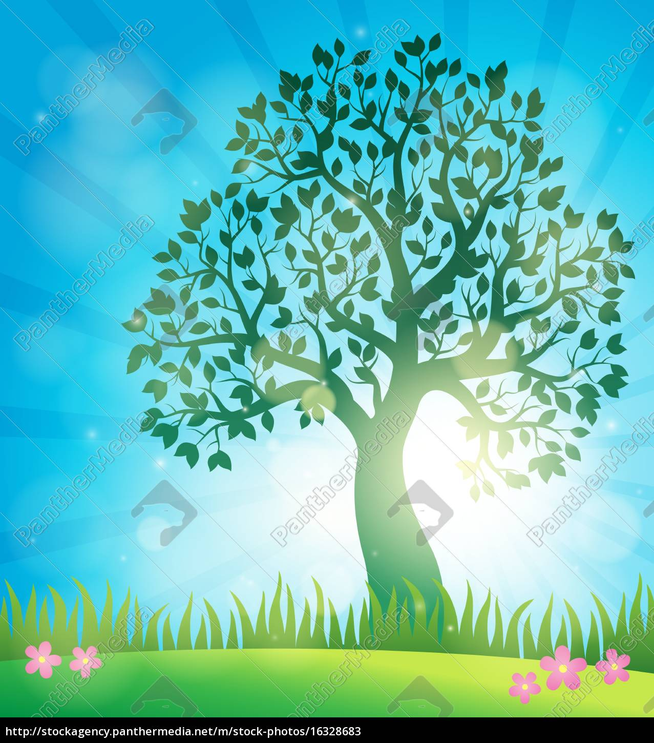 spring, topic, background, 3 - 16328683