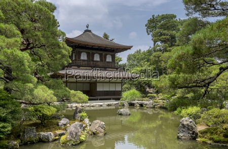 japan kyoto view to ginkaku ji