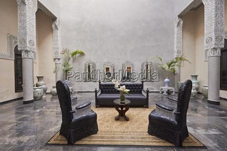 morocco fes hotel riad fes lounge