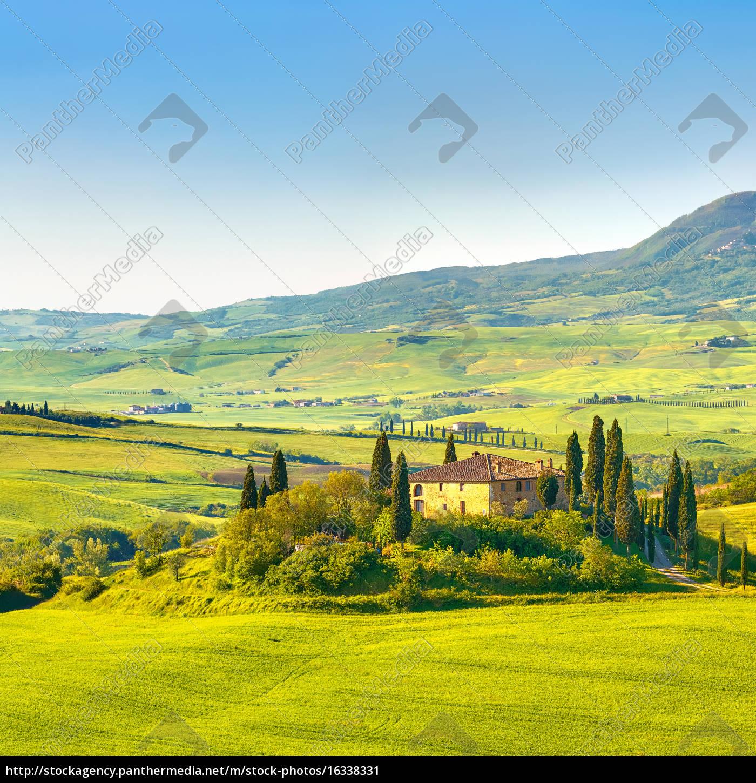 tuscany, at, spring - 16338331